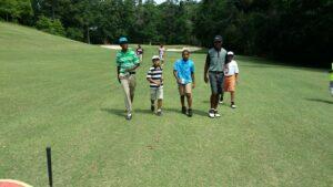 young men golf course avita flier